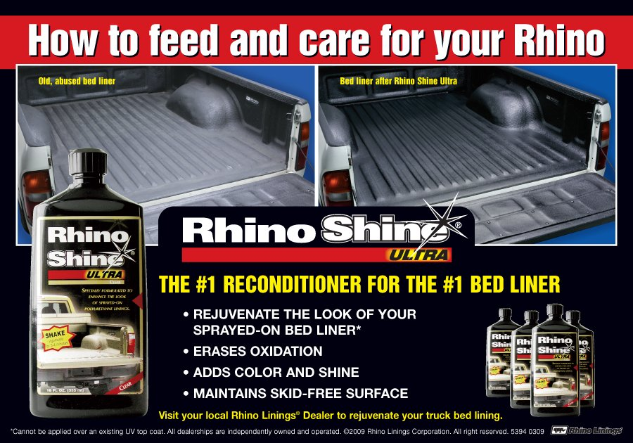 Give Your Customers the Rhino Shine™  Ultra Treatment