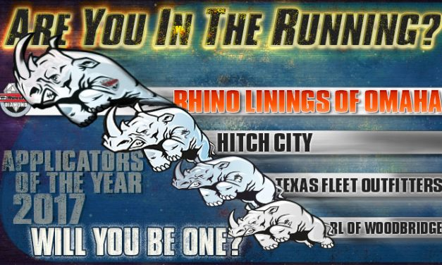 Rhino's in the Running