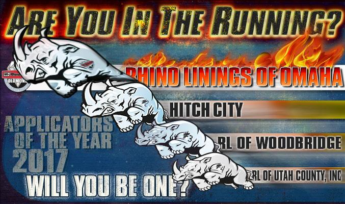 Rhino's in the Running