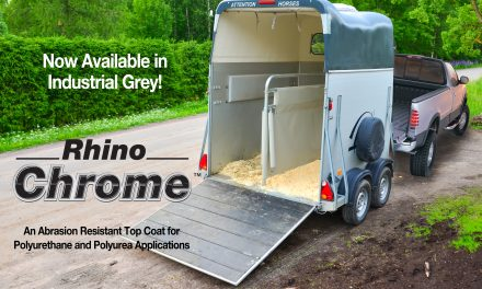 RHINO CHROME™ IS NOW AVAILABLE IN INDUSTRIAL GREY