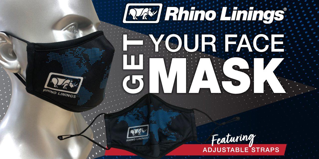New Rhino Linings Face Mask