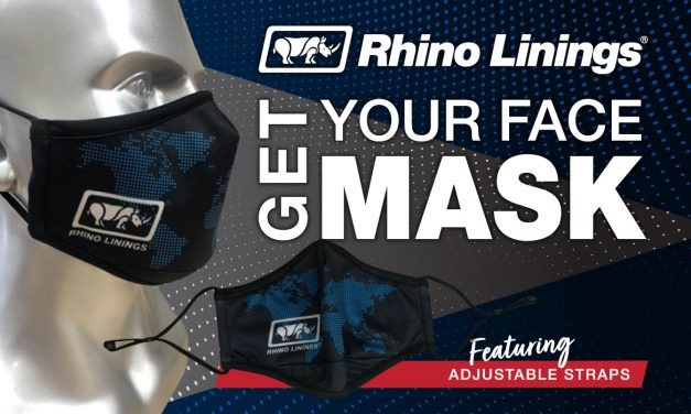 New Rhino Linings Face Mask